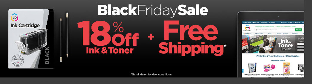 Shop LD Products' Black Friday Sale!