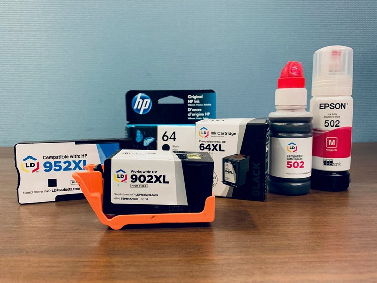 Name Brand vs. Remanufactured vs. Compatible Printer Cartridges