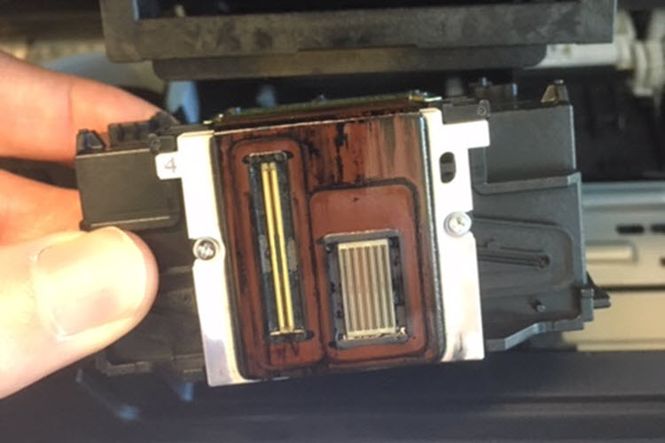 How to Clean a Canon Printhead