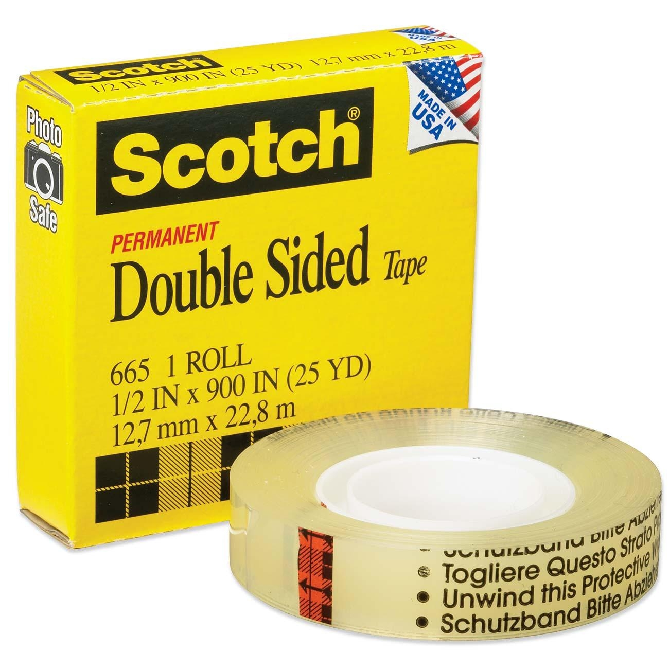 scotch double sided tape ld products. Black Bedroom Furniture Sets. Home Design Ideas