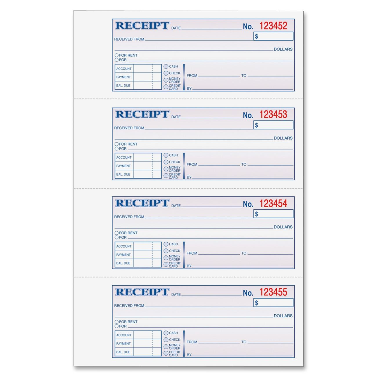 house rent receipts format – House Rent Format