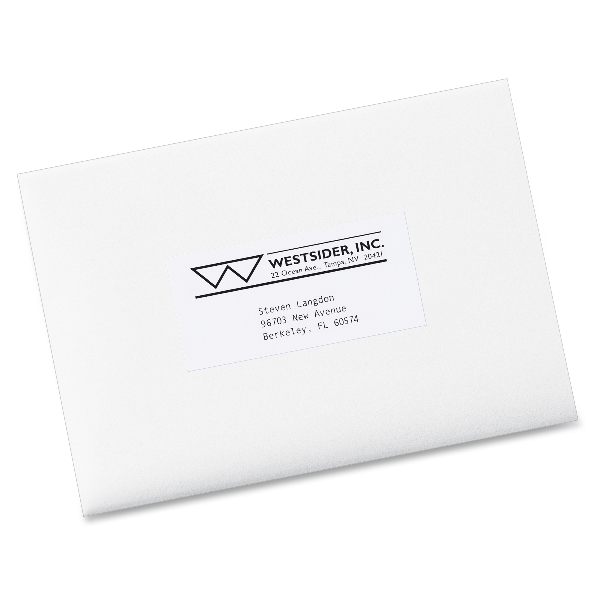Avery copier mailing label ld products for Avery 5352 template